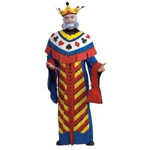トランプ キング 王様 衣装 、コスチューム 大人男性用 Playing Card King|amecos