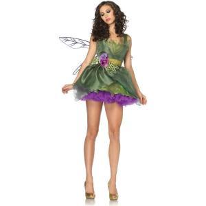森の妖精 フェアリー 衣装 、コスチューム 大人女性用 Woodland Fairy|amecos