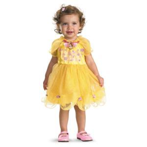 ベル 衣装 、コスチューム ベビー用 ディズニー 美女と野獣 Belle|amecos