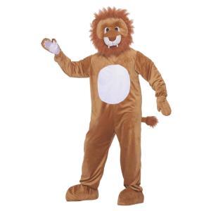 ライオン 着ぐるみ 衣装、コスチューム LEO THE LION MASCOT 動物 amecos
