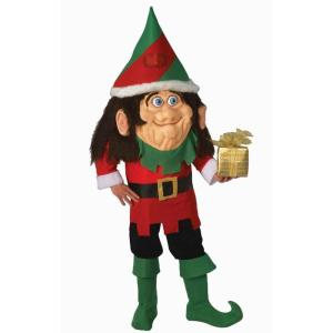 サンタクロースの妖精 衣装 、コスチューム 大人男性用 クリスマス エルフ Santa's Elf|amecos