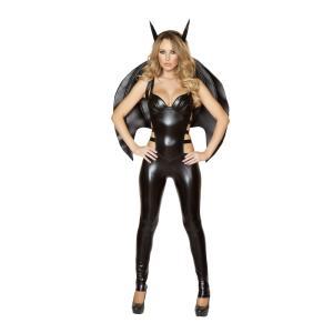 吸血鬼 バンパイア 黒 衣装、コスチューム 大人女性用 Bat|amecos