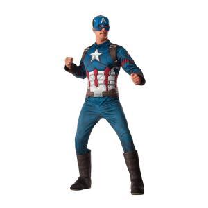 キャプテン・アメリカ 衣装、コスチューム 大人男性用 Avengers Age of Ultron|amecos