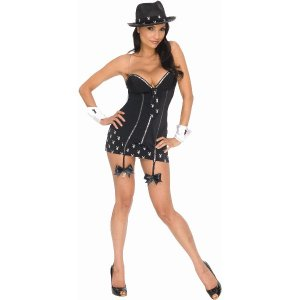 PLAYBOY GANGSTER ギャングスター 衣装 、コスチューム 女性用 amecos