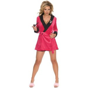 PLAYBOY Pink Girlfriend ローブ 衣装 、コスチューム 女性用 amecos