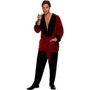 PLAYBOY Hugh Hefner ローブ 衣装 、コスチューム 男性用 amecos