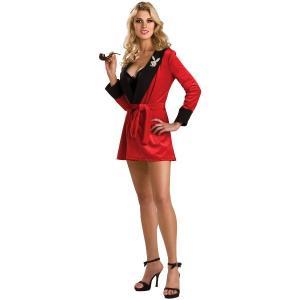 PLAYBOY Red Girlfriend Robe ローブ 衣装 、コスチューム 女性用 amecos