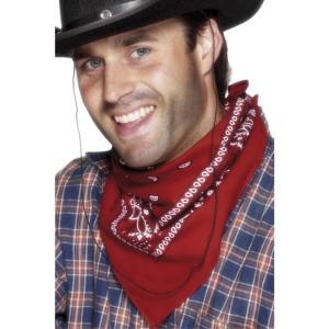 バンダナ 赤 カウボーイ風 ウエスタン 大人男性用 Cowboy Bandanna amecos