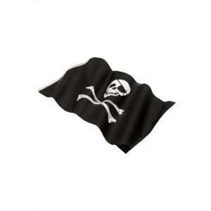 海賊旗 黒 ドクロ 152cm×91cm Pirate Flag|amecos