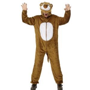 ライオン ジャンプスーツ 衣装、コスチューム 大人男性用 Lion amecos