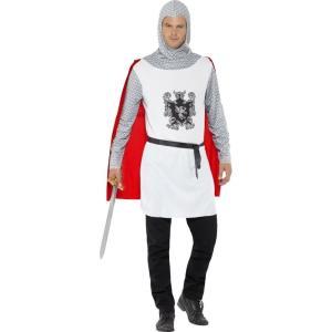 騎士 中世ヨーロッパ 衣装、コスチューム 大人男性用 Knight Costume, Economy|amecos