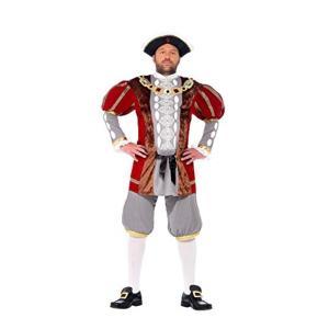 ヘンリー8世 衣装、コスチューム 大人男性用 王様|amecos
