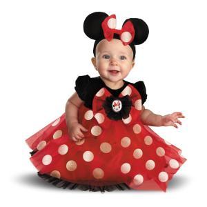 ミニー・マウス 衣装、コスチューム ベビー用 赤 ディズニー|amecos