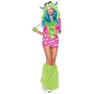 メロディ・モンスター 衣装、コスチューム 大人女性用 Monster amecos