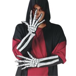 スケルトン手袋と骨のアームカバー 大人用 amecos