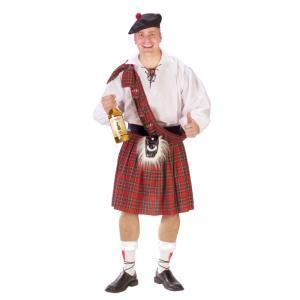スコティッシュ・キルト 衣装、コスチューム 大人男性用 スタンダード|amecos