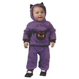 コウモリ 衣装、コスチューム ベビー用 動物 HOODED BAT|amecos