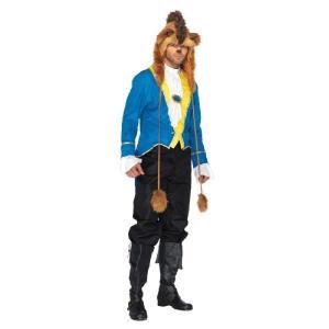 ライオン ジャケット 衣装 、コスチューム 大人男性用 BEAST BLUE amecos