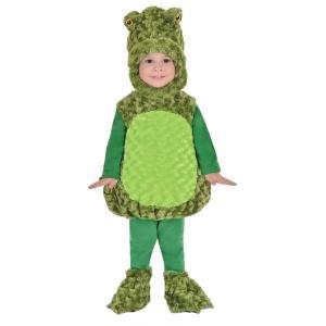 カエル 衣装、コスチューム 着ぐるみ 子供男性用 BIG MOUTH FROG TODDLER|amecos