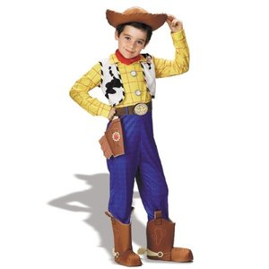 トイストーリー ウッディ Deluxe 衣装 、コスチューム 子供用 ディズニー|amecos