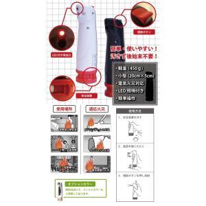 消棒ミニー miny 小型エアゾール式簡易消火具 ワイピーシステム メーカー直送 最新製造製品|amecss|02