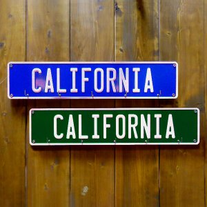 プレートキーフック CALIFORNIA カリフォルニア|amegare