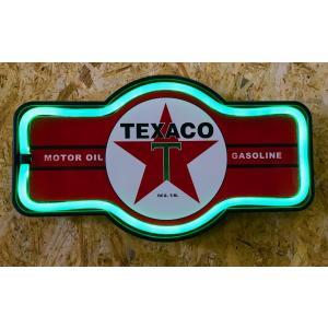 ネオン風LEDロープサイン TEXACO|amegare