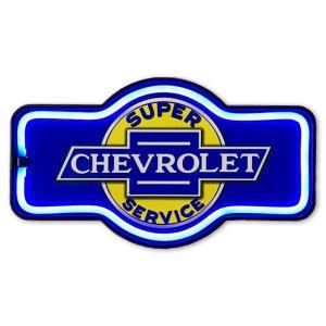 ネオン風LEDロープサイン CHEVROLET|amegare