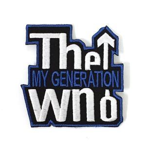 ワッペン The Who/ザ・フー amegare