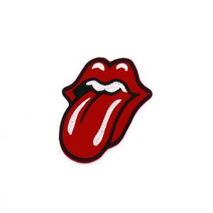 ワッペン ザ・ローリング・ストーンズ tongue and lip 唇 amegare