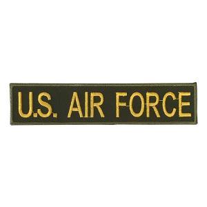 ワッペン U.S. AIR FORCE アメリカ空軍 カーキ amegare