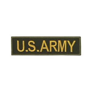 ワッペン U.S.ARMY アメリカ陸軍 カーキ amegare