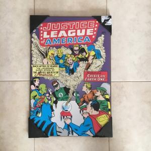アメリカンコミック アートパネル スーパーマン、バットマン、etc|amegare
