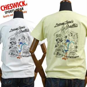 チェスウィックCHESWICK Tシャツ ロードランナーROAD RUNNER「LOONY TUNE'S GRAFFITI」CH78004 東洋エンタープライズ|amekajishop-klax-on