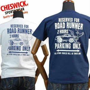 チェスウィックCHESWICK Tシャツ ロードランナーROAD RUNNER「RR PARKING ONLY」CH78006 東洋エンタープライズ|amekajishop-klax-on
