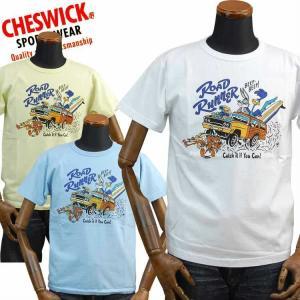 チェスウィックCHESWICK Tシャツ ロードランナーROAD RUNNER「CATCH IT IF YOU CAN!」CH78008 東洋エンタープライズ|amekajishop-klax-on