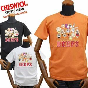 チェスウィックCHESWICK ロードランナーROAD RUNNER Tシャツ「S.F.BEEPS」CH78250|amekajishop-klax-on