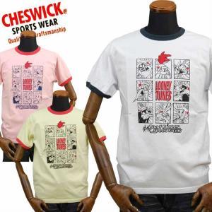 チェスウィックCHESWICK ロードランナーROAD RUNNER Tシャツ「LOONEY TUNE'S RACING」CH78252|amekajishop-klax-on