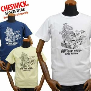 チェスウィックCHESWICK ロードランナーROAD RUNNER Tシャツ「SUPER ENGINE」CH78253|amekajishop-klax-on