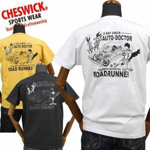 チェスウィックCHESWICK ロードランナーROAD RUNNER Tシャツ「X RAY DOCTOR」CH78254|amekajishop-klax-on