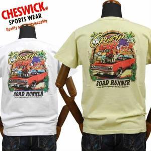 チェスウィックCHESWICK ロードランナーROAD RUNNER Tシャツ「CRUISING COAST」CH78255|amekajishop-klax-on