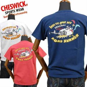チェスウィックCHESWICK ロードランナーROAD RUNNER Tシャツ「RR LOVE ME SST」CH78256|amekajishop-klax-on
