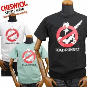 チェスウィックCHESWICK ロードランナーROAD RUNNER Tシャツ「GHOST RUNNER」CH78257|amekajishop-klax-on