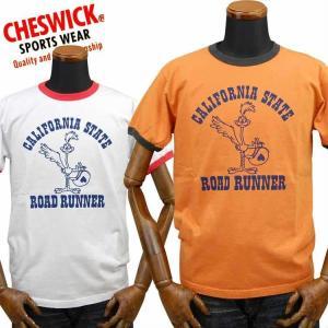 チェスウィックCHESWICK ロードランナーROAD RUNNER Tシャツ「CALFORNIA STATE」CH78258|amekajishop-klax-on