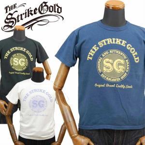 ストライクゴールド THE STRIKEGOLD オリジナル吊り編みTシャツ「SGT2004」 amekajishop-klax-on