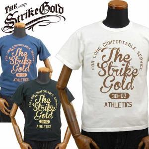 ストライクゴールド THE STRIKEGOLD オリジナル吊り編みTシャツ「SGT2005」 amekajishop-klax-on