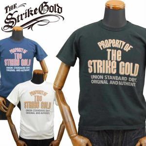 ストライクゴールド THE STRIKEGOLD オリジナル吊り編みTシャツ「SGT2006」 amekajishop-klax-on