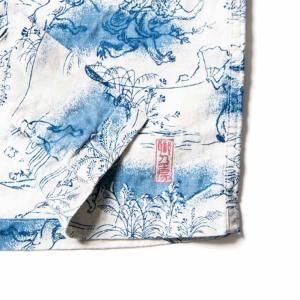 ステュディオ・ダ・ルチザンSTUDIO D'ARTISAN 40thインディゴアロハシャツ【SP-036】|amekajishop-klax-on|03