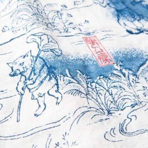 ステュディオ・ダ・ルチザンSTUDIO D'ARTISAN 40thインディゴアロハシャツ【SP-036】|amekajishop-klax-on|04