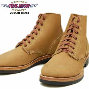 トイズマッコイ TOYS McCOY ワークブーツ M-43 REVERSE UPPER SERVICE SHOES TYPE III TMA2008|amekajishop-klax-on